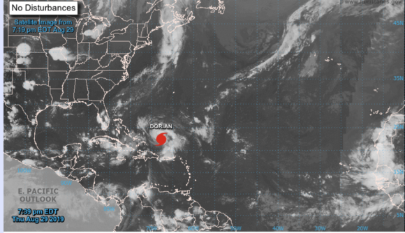 Update Hurricane Dorian Expected To Be Category 4 Storm